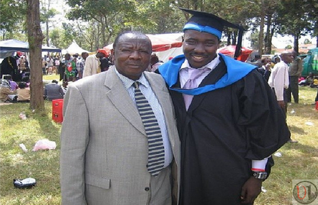 Willis Raburu's Dad