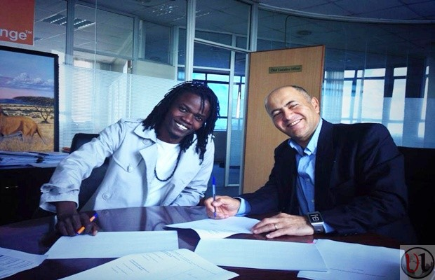 Juliani And Orange CEO Mickael Ghossein