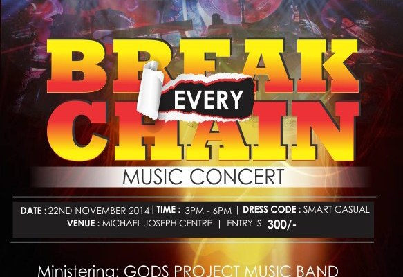 Gods Project - Break Every Chain ad