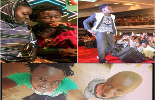 After Singing Mama, Bahati Is Now A Baba : Uprising Artiste Bahati Adopts A Child From A Children's Home
