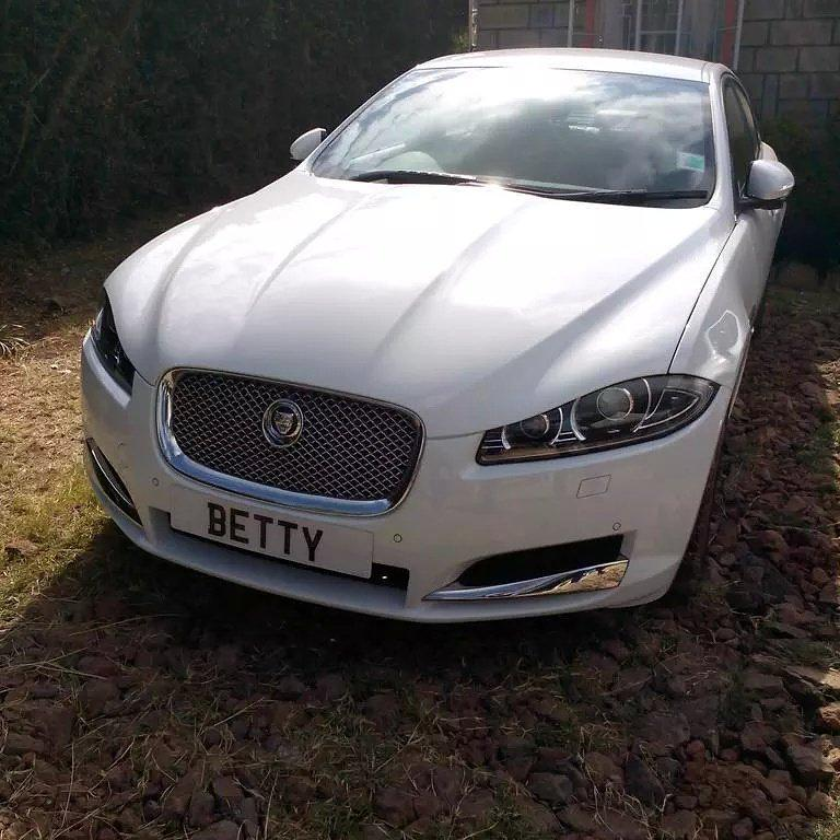 betty kyalo car