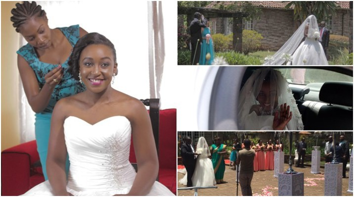 IN PICTURES : Betty Kyalo And Dennis Okari Wedding Ceremony #BettyWedsDennis