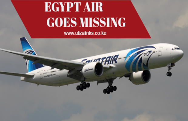 EGYPTAIR FLIGHT DISAPPEARS