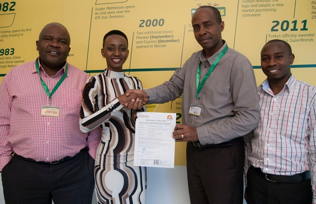 Tuskys  Licence Presentation_16th June 2016 uliza