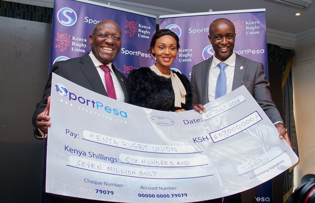 Kenya Rugby Union Receives 607Million From SportPesa.