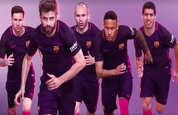 Check Out Barcelona's New PURPLE Kit.