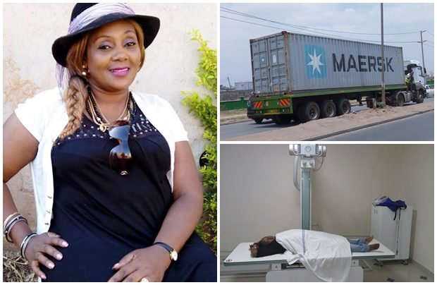 Gospel Artiste Princess Faridah Involved In A Grisly Road Accident with A Truck