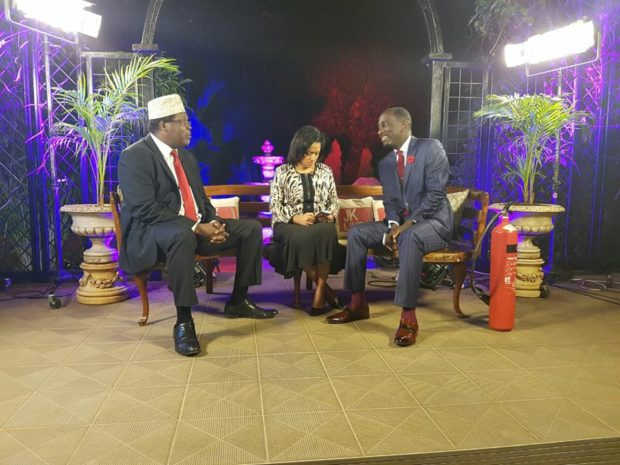 Esther Passaris thanks Robert Burale for his support when she was harassed by Miguna Miguna on JKL
