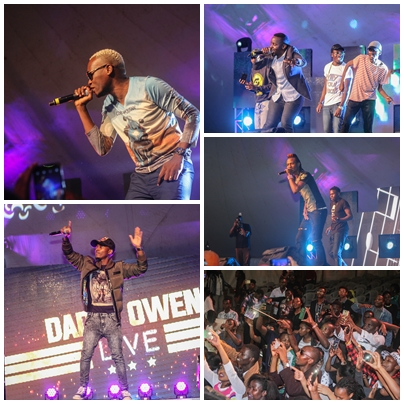 Daddy Owen Live Friday Concert (PHOTOS)