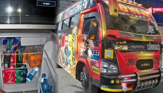 Here Is A Nairobi Matatu That Gives Free Soda During Trip