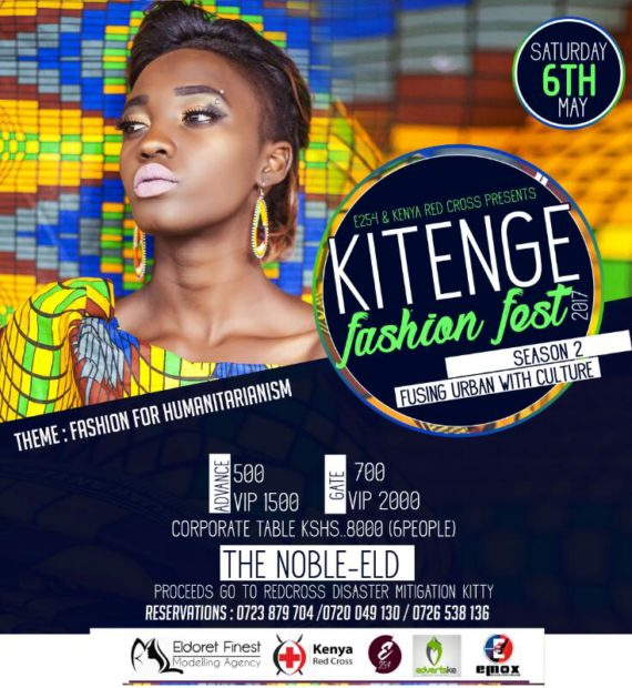 This Saturday : Don't Miss the Biggest KITENGE Fashion Festival
